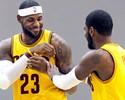 LeBron e Kyrie lideram a 1ª parcial de votos para o All-Star da NBA; veja lista