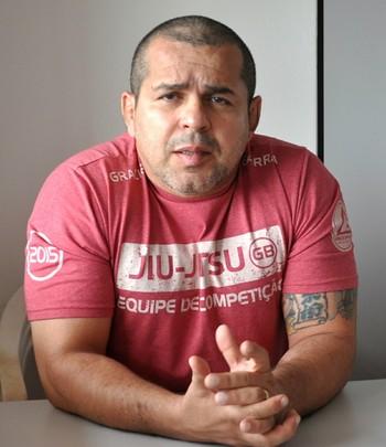 Henrique Machado, sensei faixa preta quinto grau de jiu-jítsu (Foto: Duaine Rodrigues)