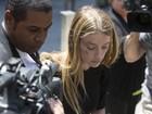 Amber Heard não denunciou agressão de Johnny Depp para a polícia, diz site