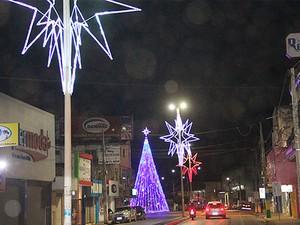 Decoração de 2015 em Barreiras (Foto: Divulgação)