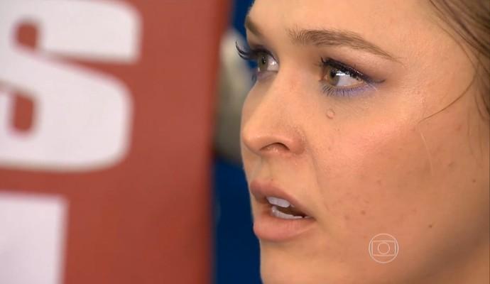 Ronda Rousey (Foto: Reprodução TV Globo)