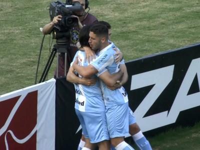 Londrina gol (Foto: Reprodução/Premiere)