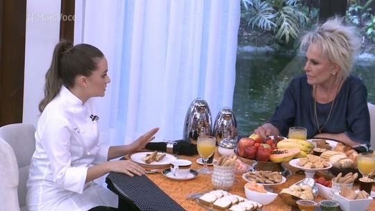 No 'Mais Você', chef fala como farinha do Uarini ajudou a chegar em final de concurso