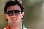 Sergio Pérez, da Force India, é um dos dois representantes mexicanos no Mundial de Pilotos (Foto: Getty Images)