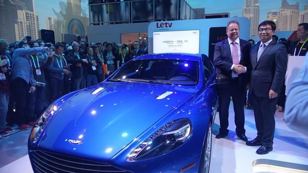 Aston Martin apresenta Rapide S com sistema da Letv (Foto: Divulgação)