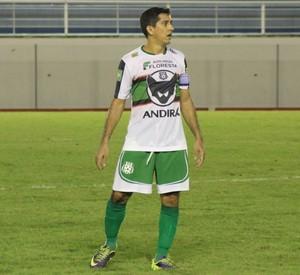 João Paulo, capitão Andirá (Foto: Duaine Rodrigues)