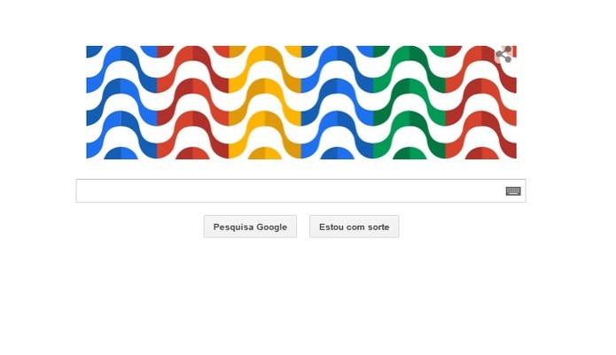 Aniversário da cidade do Rio de Janeiro ganha doodle especial. (Foto: Reprodução/Google)