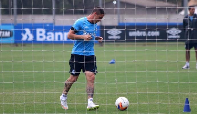 Cristian Rodríguez Grêmio (Foto: Eduardo Deconto/GloboEsporte.com)