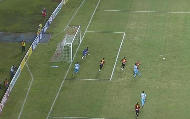 Paysandu x Sport (Foto: Reprodução/TV Globo)