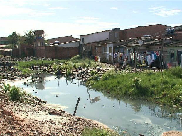 Estudo diz que São Luís ocupa 79ª posição em saneamento (Foto: Reprodução/TV Mirante)
