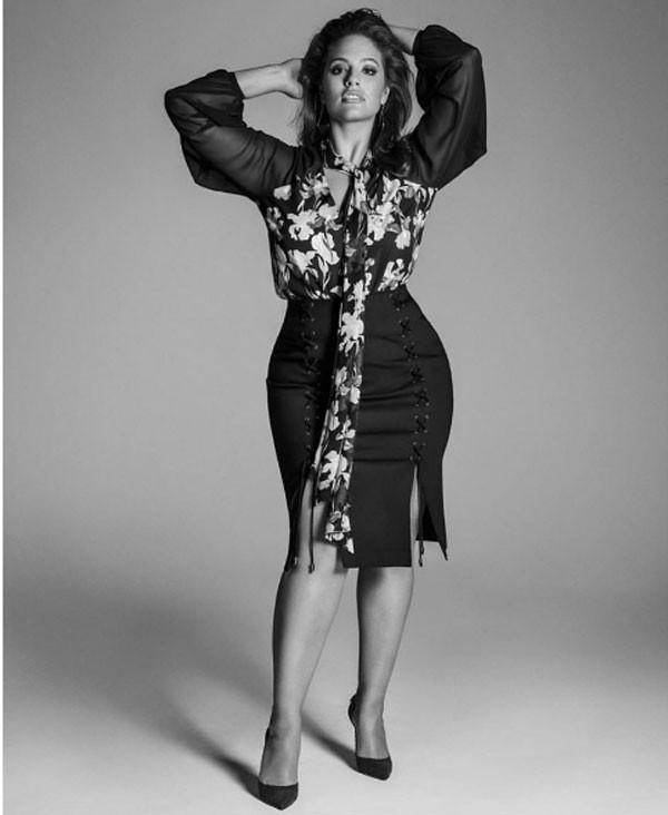 Ashley Graham (Foto: Reprodução Instagram)