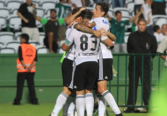 Coritiba, Paraná, Kleber, gol (Foto: Divulgação/Coritiba)