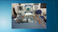 Agentes apreendem 16 facas no presídio do Serrotão