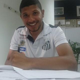 Yan Santos (Foto: Divulgação / Santos FC)