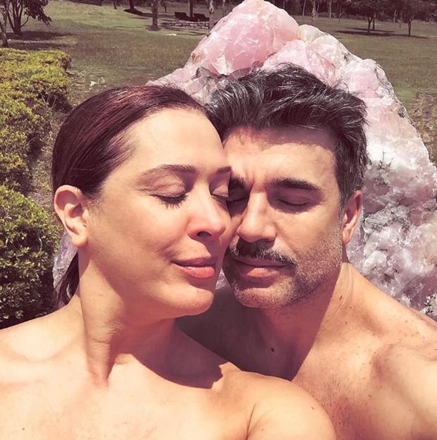 Claudia Raia e marido (Foto: Reprodução/Instagram)