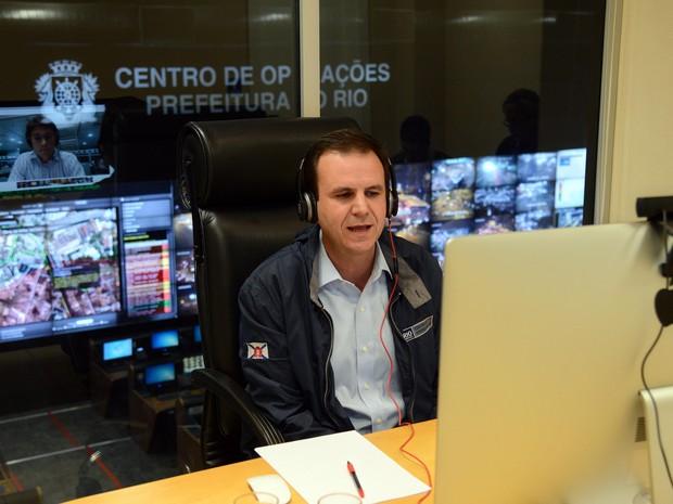 Entrevista foi transmitida ao vivo pela internet (Foto: J.P.Engelbrecht/Divulgação)