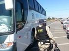 Polícia rodoviária apreende 1,5 kg de cocaína em ônibus no DF