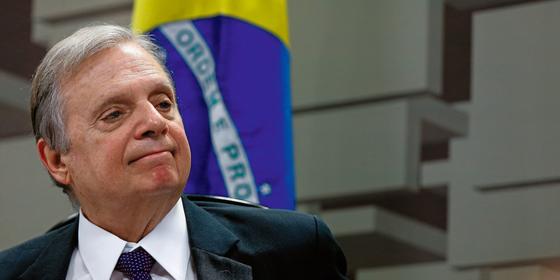 O senador Tasso Jereissati.A postura sistemática contra o governo lhe custou o cargo (Foto:   Pedro Ladeira/Folhapress)