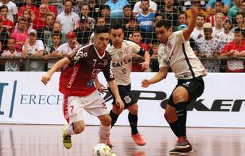 Com gol no último segundo, Timão arranca empate com Atlântico Erechim