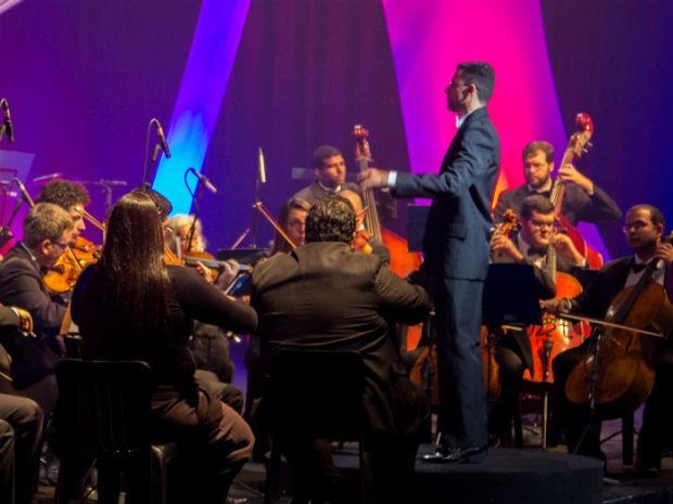 Orquestra Filarmônica de Valinhos (SP) (Foto: Fabricio Takaki)