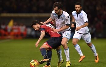 Com Felipe Anderson em campo, Lazio não sai do 0 a 0 diante do Genoa