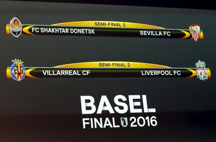 Semifinais da Liga Europa (Foto: Reuters)