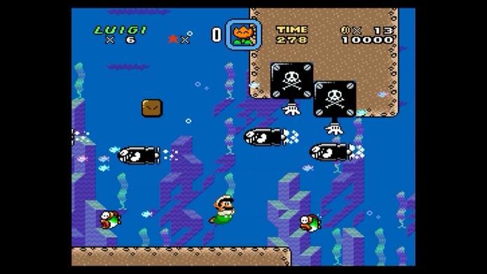 Super Mario World (Foto: Reprodução/Murilo Molina)
