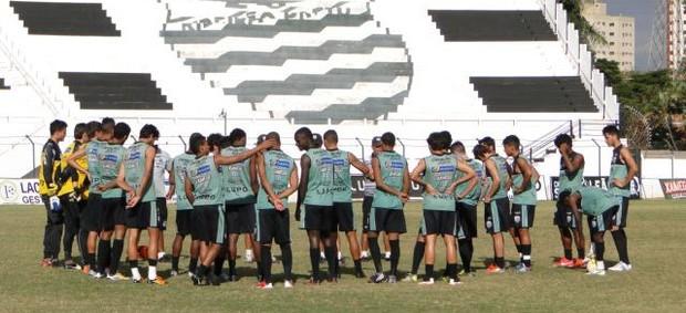 Treino do Comercial no Palma Travassos (Foto: Gabriel Lopes / Comercial FC)