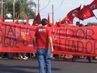 Integrantes do MST desocupam fazenda em Jaú após protesto