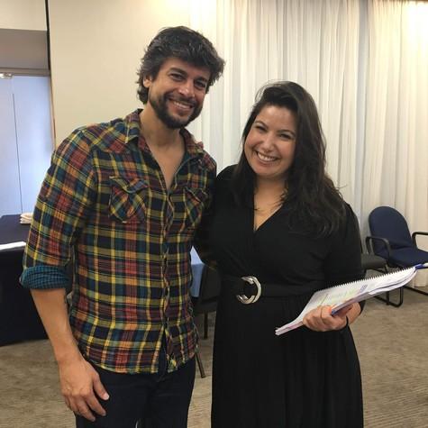 Mariana Xavier e Ernani Nunes (Foto: Divulgação)