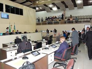 Deputados tentaram revogar lei que criou a Flota no Amapá (Foto: Jaciguara Cruz/Decom/Alap)