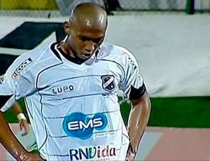 Flávio Boaventura lamenta gol sofrido no empate com Ipatinga (Foto: Reprodução/PFC)