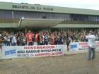 Profissionais da Saúde realizam ato público em Palmas