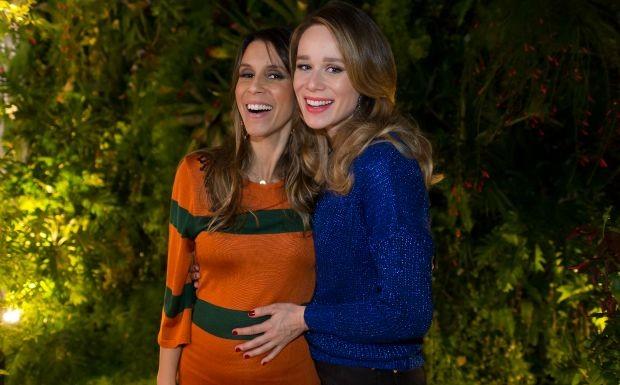 Mariana Ximenes grava nova temporada de programa com Sarah Oliveira em sua casa na Gvea (Foto: Andr Bittencourt)