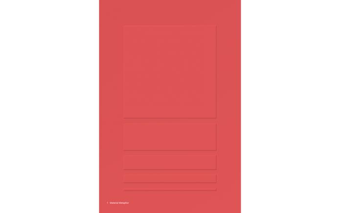 Primeiro princípio do Material Design: Material is the metaphor (Foto: Reprodução/Google).