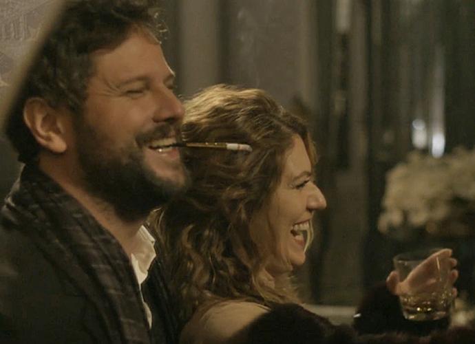 Selton e Patricia serão cúmplices e brincarão com os sentimentos das pessoas (Foto: TV Globo)