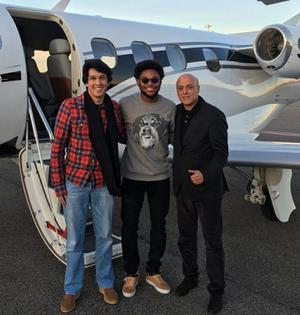 Luiz Adriano instagram China (Foto: Reprodução/Instagram)