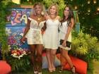 Ex-BBBs se reúnem em festa do branco em hotel no Rio