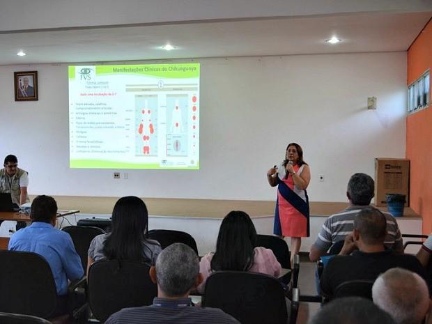 Treinamento do FVS iniciou nesta terça-feira (26) (Foto: Divulgação/ FVS)