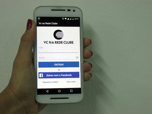 Clube lança nova versão de ferramenta colaborativa: o aplicativo 'Você na Rede Clube' (Foto: Katylenin França/TV Clube)