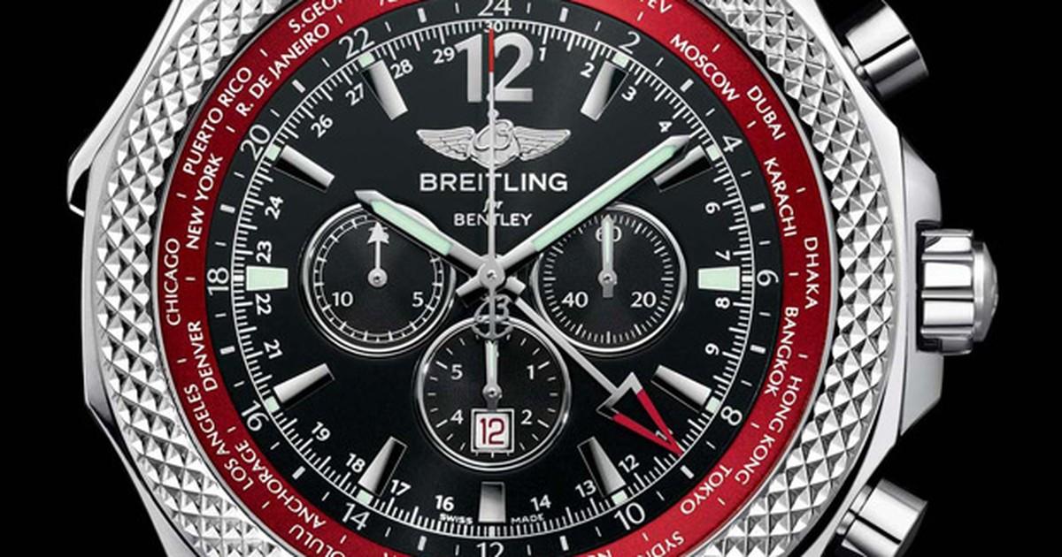 753545ccffb Auto Esporte - Breitling lança relógio de pulso em homenagem a novo motor  da Bentley