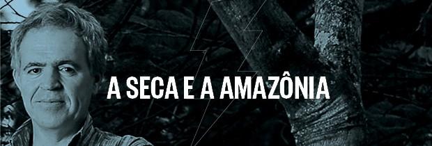 Choque de realidade - A seca e a Amazônia  (Foto: Reprodução)