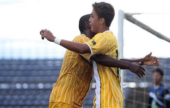 Romarinho faz primeiro gol como profissional em vitória do Jacaré