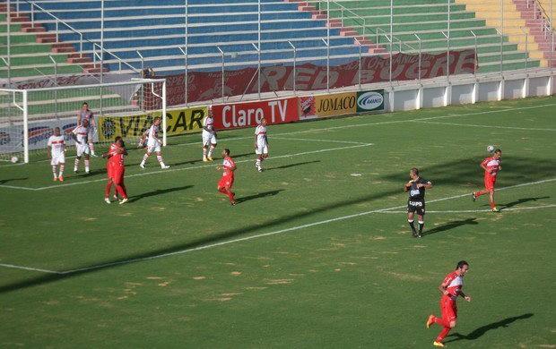 Anderson Grafite marcou o gol de honra do América-TO na goleada sofrida para o Guarani (Foto: Assessoria de Imprensa)