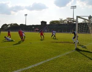 Guaraí x Tocantins empatam no estádio Delfinão (Foto: Marcelo Gris/ Guaraí Notícias)