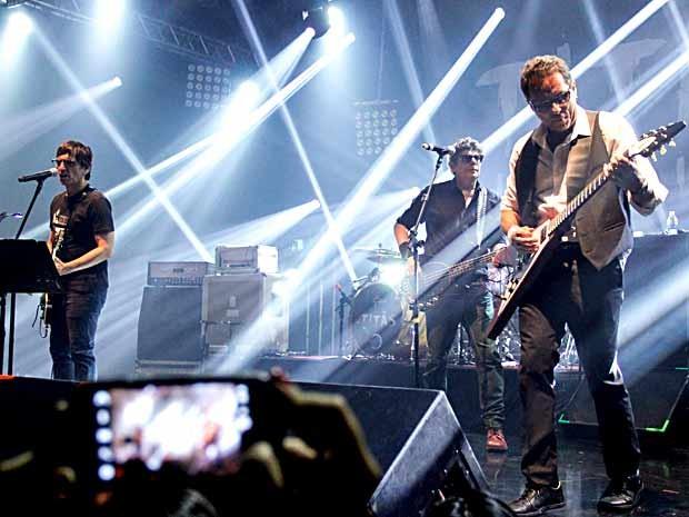 Titãs em show em Brasília no último sábado (Foto: Rômulo Juracy/Divulgação)