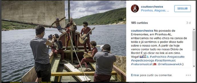 A 'Expedição Voga' seguirá por 25 dias (Foto: Reprodução Internet)