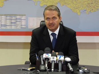 Eduardo Campos, governador de Pernambuco (Foto: Luna Markman/G1)