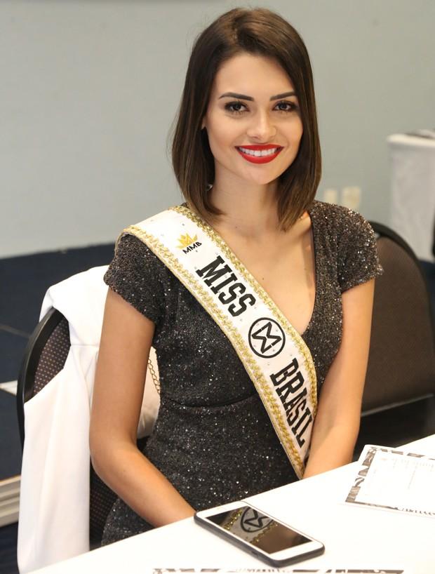 Beatrice Fontoura, a atual Miss Brasil Mundo (Foto: Leonardo Rodrigues/ Destac Assessoria)