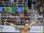 Atletas de ginástica rítmica estreiam ginásio em Vitória antes do Masters